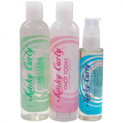 Kinky-Curly Hair Care Set [ Come Clean,Knot Today, and Perfactly Polished]