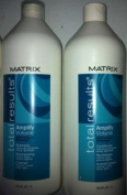 Matrix Total Results Amplify Volume Shampoo and Conditioner Litre