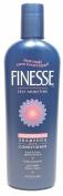 Finesse Self Adjusting Moisturising Shampoo & Conditioner 5.1cm 1 Oil Free for Dry Coarse Hair 440ml