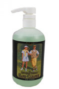 18 Oz, Gentle Sensitive, Antibacterial, Hand Soap, Moisturises While Killing Bacteria. Formulated for Your Members and Staff. Our Antibacterial Hand Soap Leaves Your, Hands, Soft, and Does NOT Over Dry or Irritate Your Skin. R & A Antibacterial Hand Soap