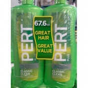 Pert Plus 5.1cm 1 Classic Clean For Normal Hair Twin Pack