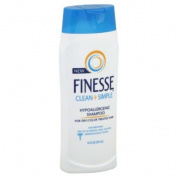 Finesse Clean + Simple Shampoo, Hypoallergenic, for Dry/Colour Treated Hair, 300ml