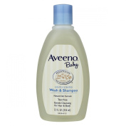 Aveeno Baby Lightly Scented Wash & Shampoo, 350ml