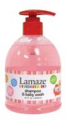 Lamaze Baby Shampoo & Body Wash 470ml - Fresh Strawberry Scent