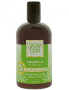 Aromaland - Shampoo for All Hair Types - Tea Tree & Lemon 12 Oz
