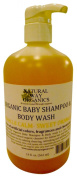 Natural Way Organics Organic Baby Shampoo & Body Wash Miracle Calm - Sweet Orange - 560ml