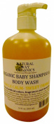 Natural Way Organics Organic Baby Shampoo & Body Wash Miracle Calm - Sweet Orange - 560ml