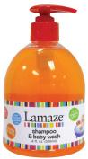Lamaze Baby Shampoo & Body Wash 470ml - orange - Made with organic ingredients