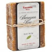 Taconic Shave Bay Rum Shampoo Bar - All Natural / Handcrafted - 160ml
