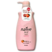 Naive Peach Hair Shampoo - 550ml