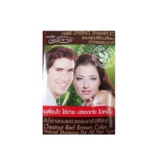 Natural Shampoo, Chestnut Red Brown Hair Colour (Coca Cola Colour) for Men & Women, Easy to Use, Safety, No Nasty