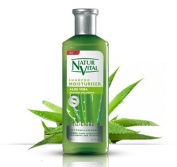Hair Shampoo Aloe Vera - Moisturiser - 300 Ml / Natural & Organic
