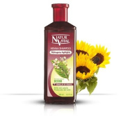 Hair Shampoo Henna Red (Mahogany) - Colour and Shine - 300 Ml / Natural & Organic