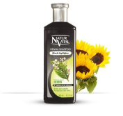 Hair Shampoo Henna Black - Colour and Shine - 300 Ml / Natural & Organic