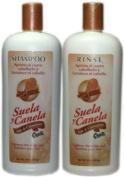 Capilo Sole & Cinnamon Shampoo 470ml + Rinse 470ml