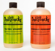 Dollylocks 350ml Rosemary Peppermint Liquid Dreadlock Shampoo