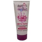 Halos N Horns Berry Burst Shampoo & Detangler for Little Devils 200ml