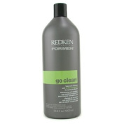 Redken Men Go Clean Daily Care Shampoo (For Normal to Dry Hair) - 1000ml/33.8oz
