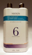 Nioxin System 6 Cleanser & Scalp Therapy Litre Duo 1000ml For Medium/Coarse, Natural, Noticeably Thinning Hair