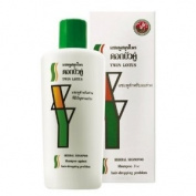 Twin Lotus Original Herbal Shampoo Herbs for Hair Fall Due to Breakage 300cc Made in Thailand