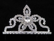 Bridal Flower Girl Prom Party Crystal Tiara Comb T39