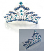 NEW HALLOWEEN COSTUME Rhinestone Crystal Tiara Comb H71
