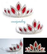 NEW HALLOWEEN COSTUME Rhinestone Crystal Tiara Comb H76