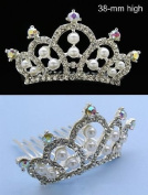 NEW PRINCESS HALLOWEEN COSTUME Crystal Crown Tiara H66
