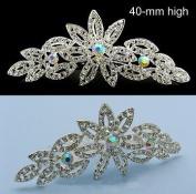 NW Bridal Wedding Veil. Crystal Crown Tiara 48