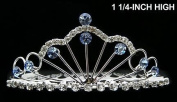 Flower Girl Pageant Princess Crown Tiara Hair Comb T24