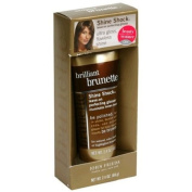 Brilliant Brunette Shine Shock leave-on perfecting glosser