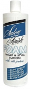 Salon Finish Foam Wrap & Style Lotion with Silk Protein, 240ml