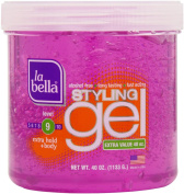 La Bella Styling Gel Extra Hold Extra Body Pink, 1180ml