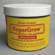 African Formula Super Grow Hair Gel Regular Hold 120ml