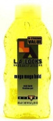 LA LOOKS #9 Gel Mega Mega 470ml (Yellow) (3-Pack) with Free Nail File