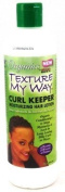 Africas Best Organic Texture My Way Curl Keeper Lotion 350ml (3-Pack) with Free Nail File