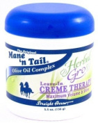 Straight Arrow Herbal Gro Leave-In Creme Therapy 160ml (3-Pack) with Free Nail File