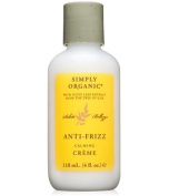 Simply Organic Anti-Frizz Creme, 120ml