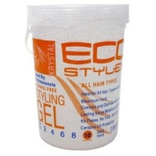 ECOCO Eco Style Gel, Clear, 2370ml