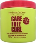 SOFT SHEEN Carson Care Free Curl Cold Wave Chemical Rearranger Maximum Strength 470ml/454g