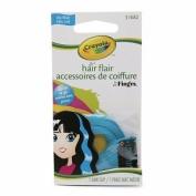 Crayola Hair Flair Multi Colour Hair Clip SKY Blue