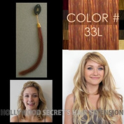 "Colour Swatch Sample for Hollywood Secret's Clip-in Clip-on Hair Extension 18""- 50cm , Colour#"