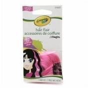 Crayola Hair Flair Multi Colour Hair Clip Wild Pink