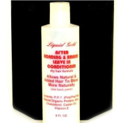 Liquid Gold Brush-on Bonding Adhesive for Cold Fusion Hair Extensions and Braids - Leave-In Conditioner
