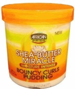 African Pride Shea Butter Miracle Bouncy Curls Pudding - 440ml Jar