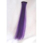 20cm Purple Haze Micro Hair Streak Accessory