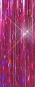 Hair Flairs Pro Hair Tinsel - 100 Strands, 90cm , Sparkle Hot Pink Fuchsia