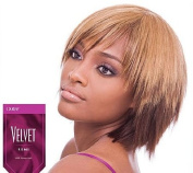 OUTRE Velvet Remi Human Hair Weave Yaki 15cm Colour 4 Medium Brown