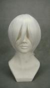 Ruler Short Naruto-hohzuki Mangetsu White Anime Cosplay Wig