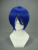 Ruler Short Vocaloid-kaito Dark Blue Anime Cosplay Wig